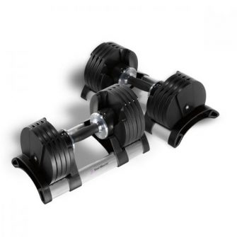 Pair of Stairmaster Twistlock Adjustable Dumbbells
