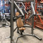 Chest piece refurbished gym equipment