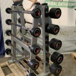 Life Fitness Barbells & rack